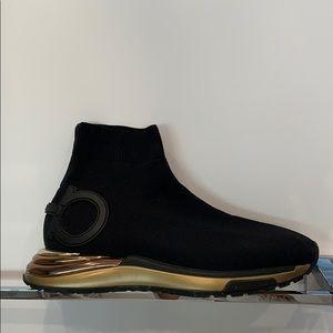 BRAND new Ferragamo Sneakers- worn once
